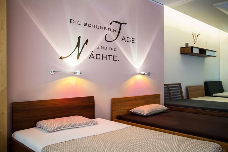 Macbett Ladenansicht - Betten München