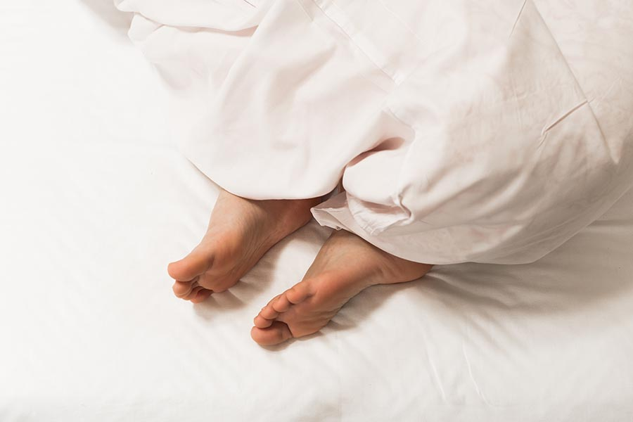 Matratze gegen Schwitzen